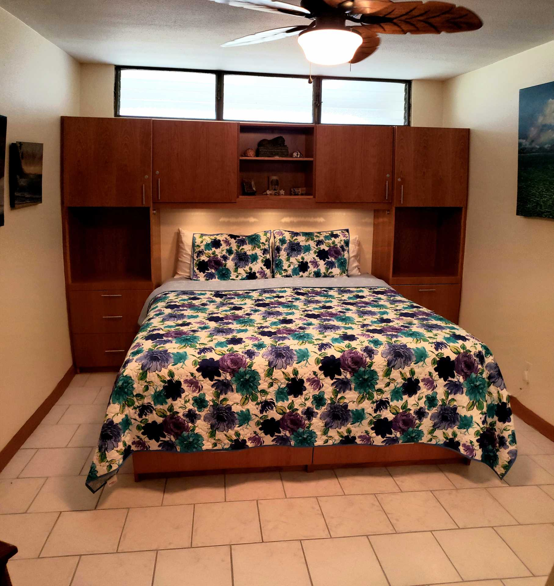 King size bed master bedroom new custom built in furniture a