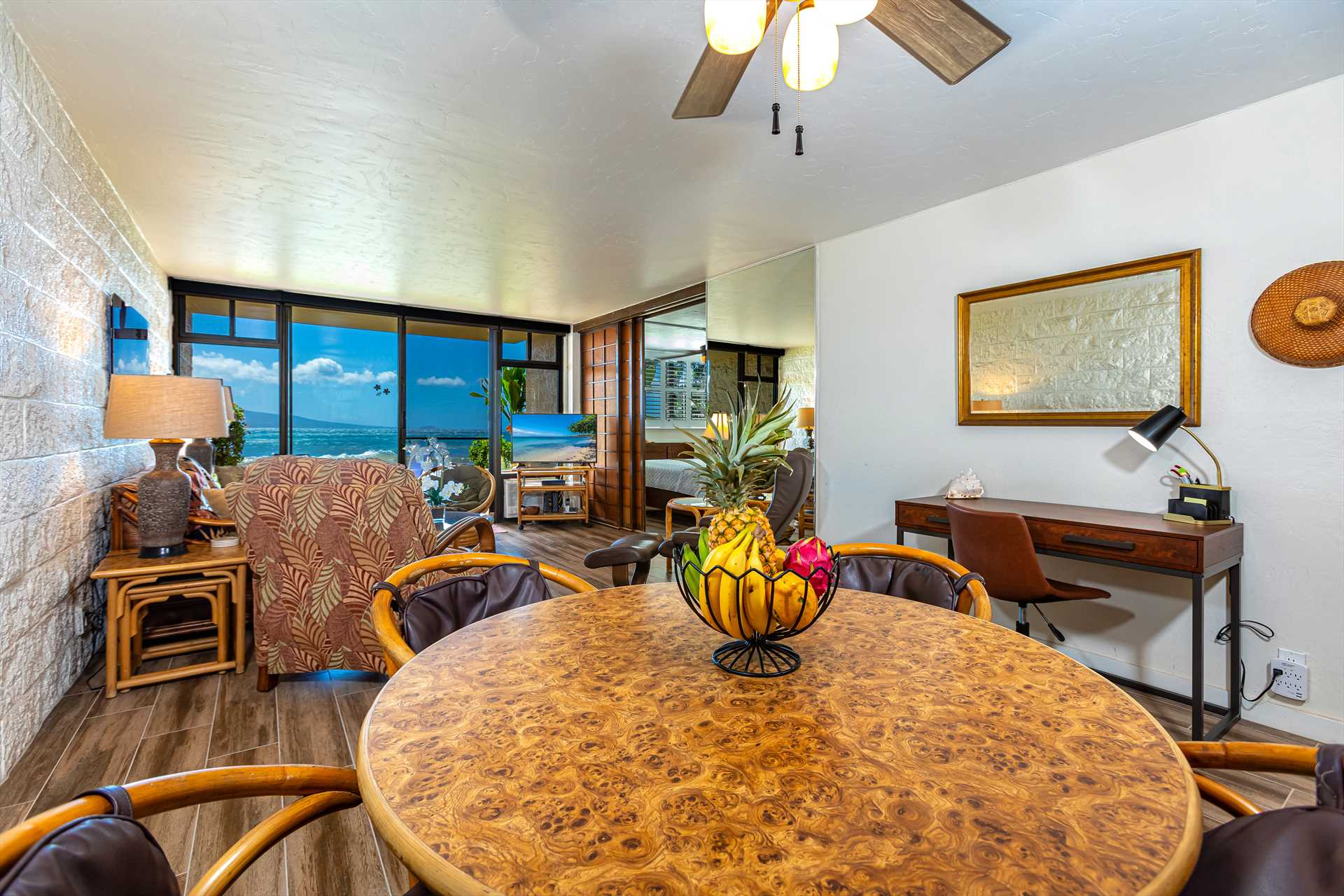 Dining area with a nice view