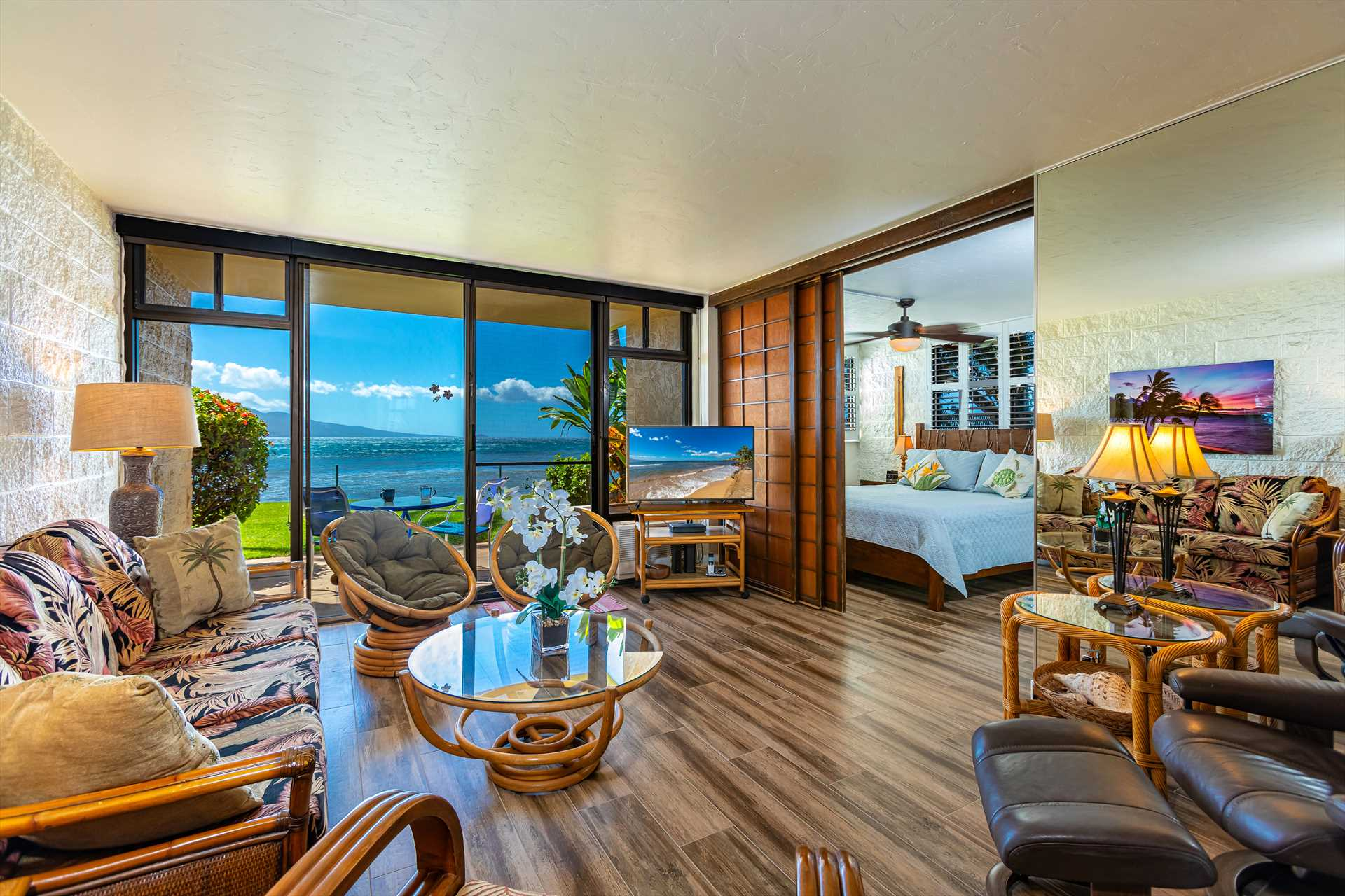 Living room with such a great view