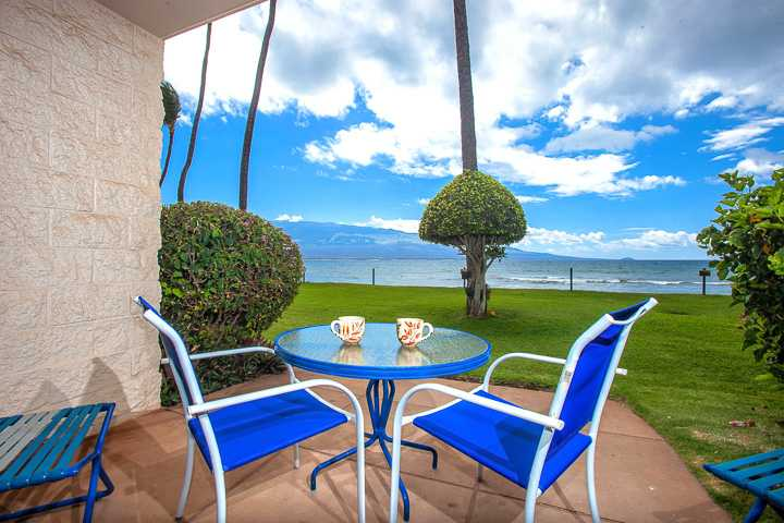 Amazing views from the lanai with just steps to the water an