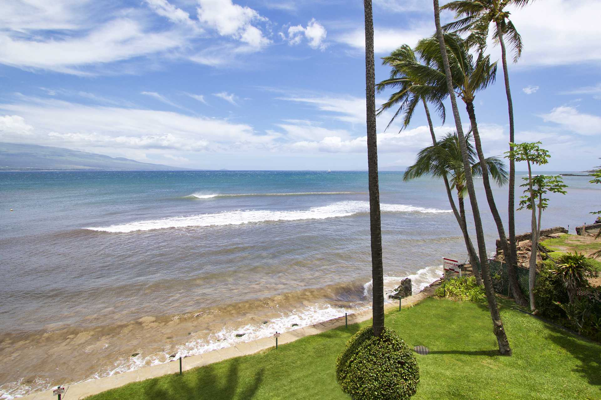 Views and more views of Maalaea Bay.  Watch the whales play