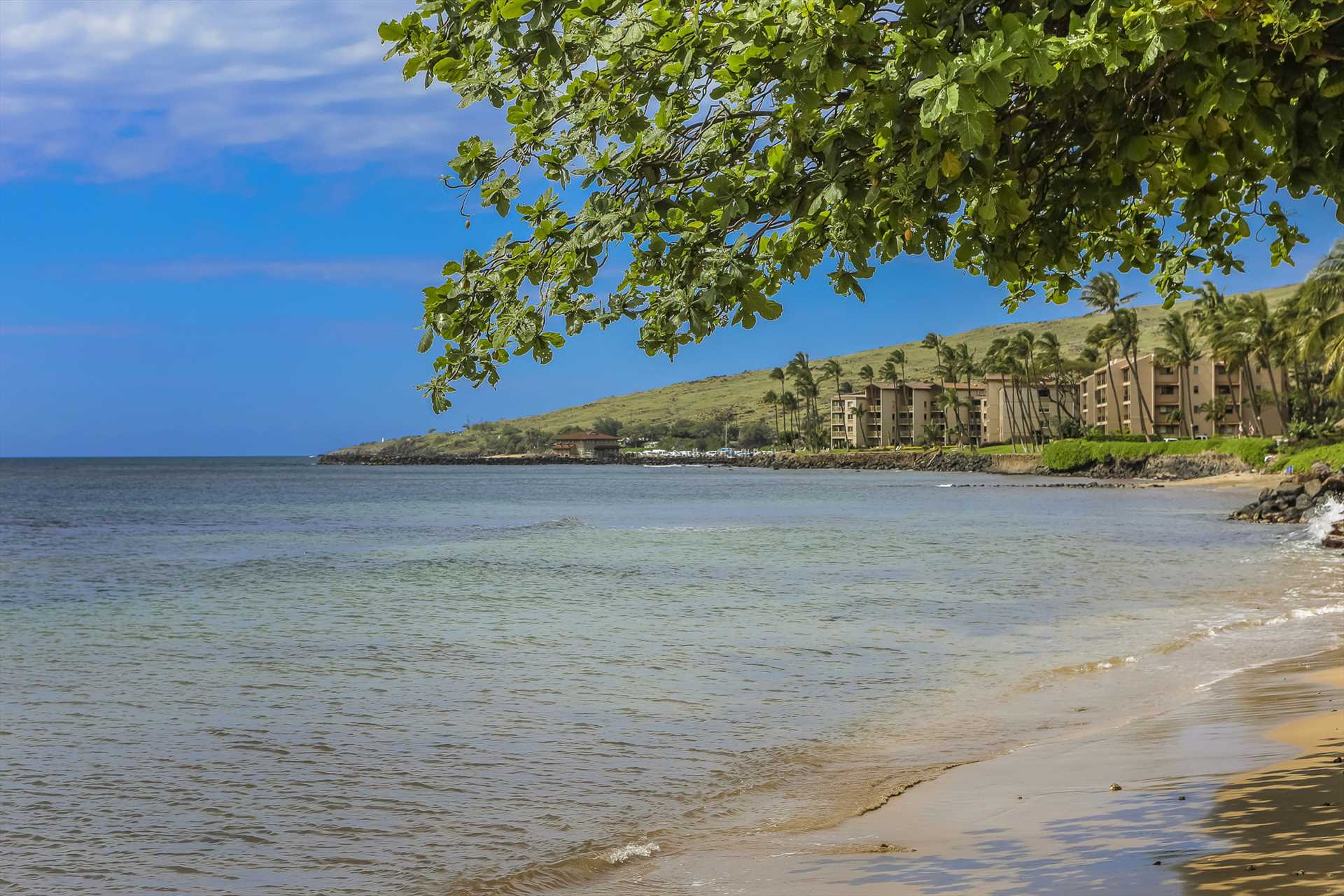 Peaceful and tranquil Maalaea Bay