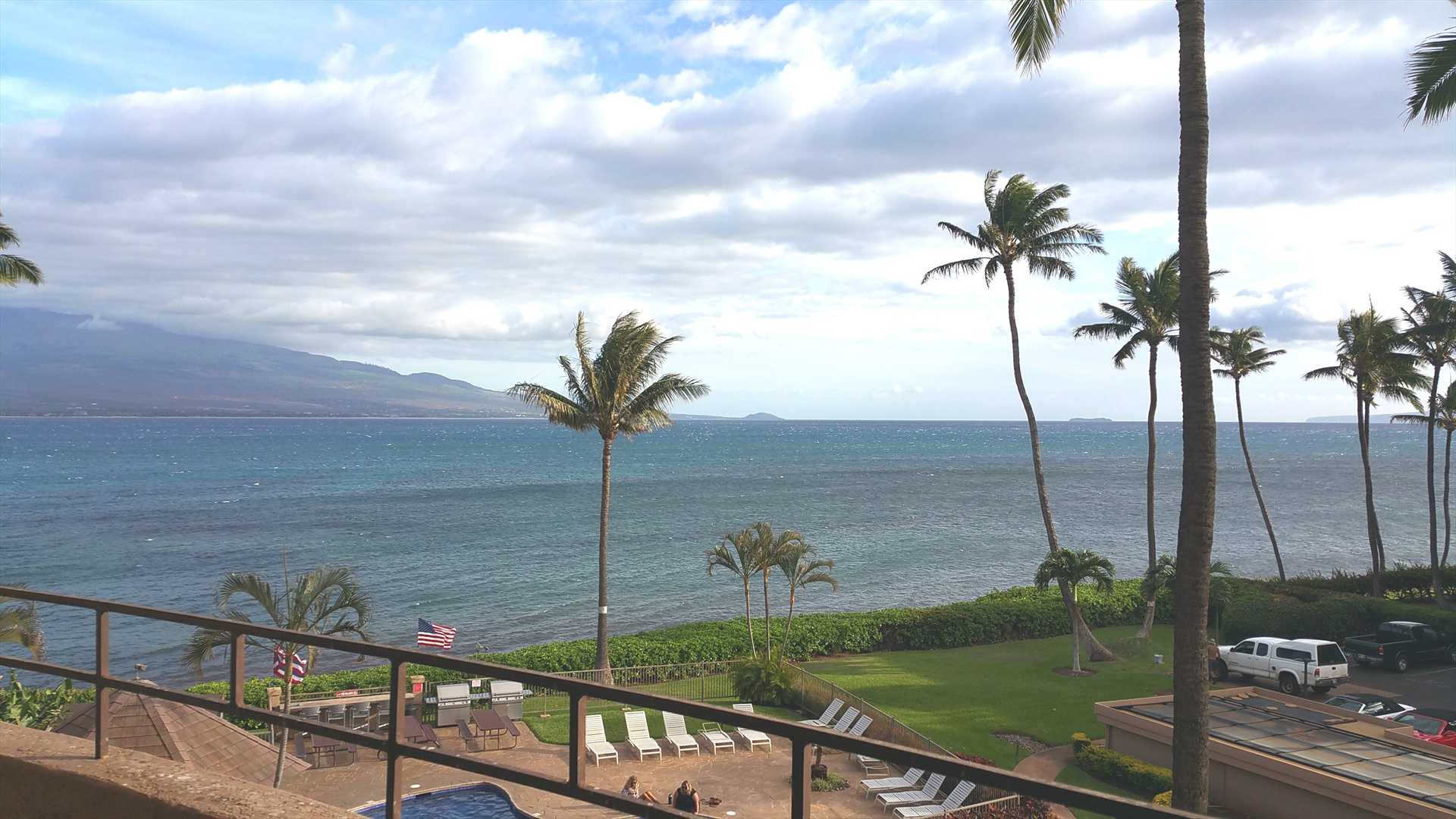 Fantastic view from the lanai