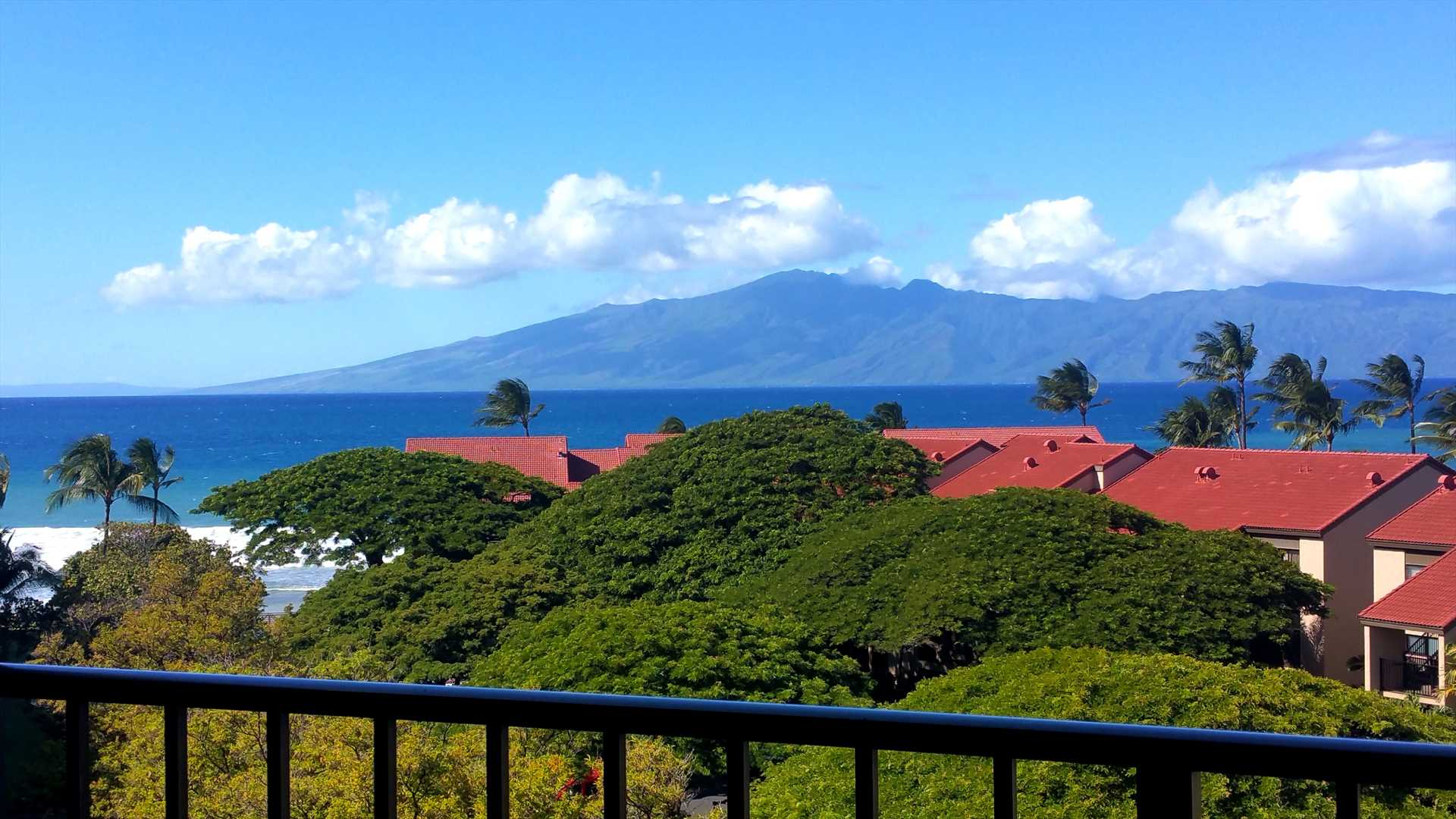 Epic views from your 7th floor lanai
