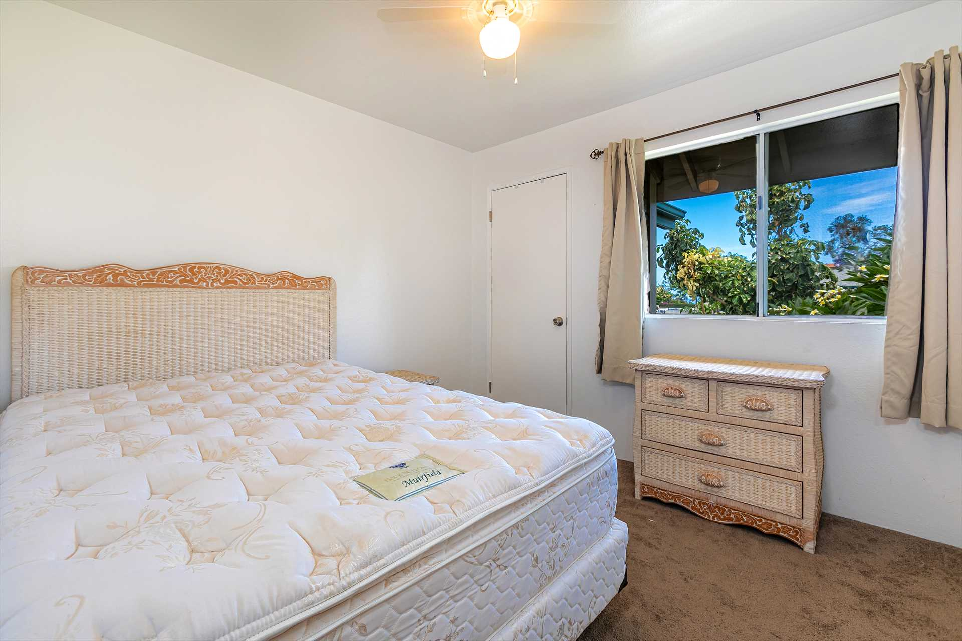 Second Bedroom with comfortable Queen size bed