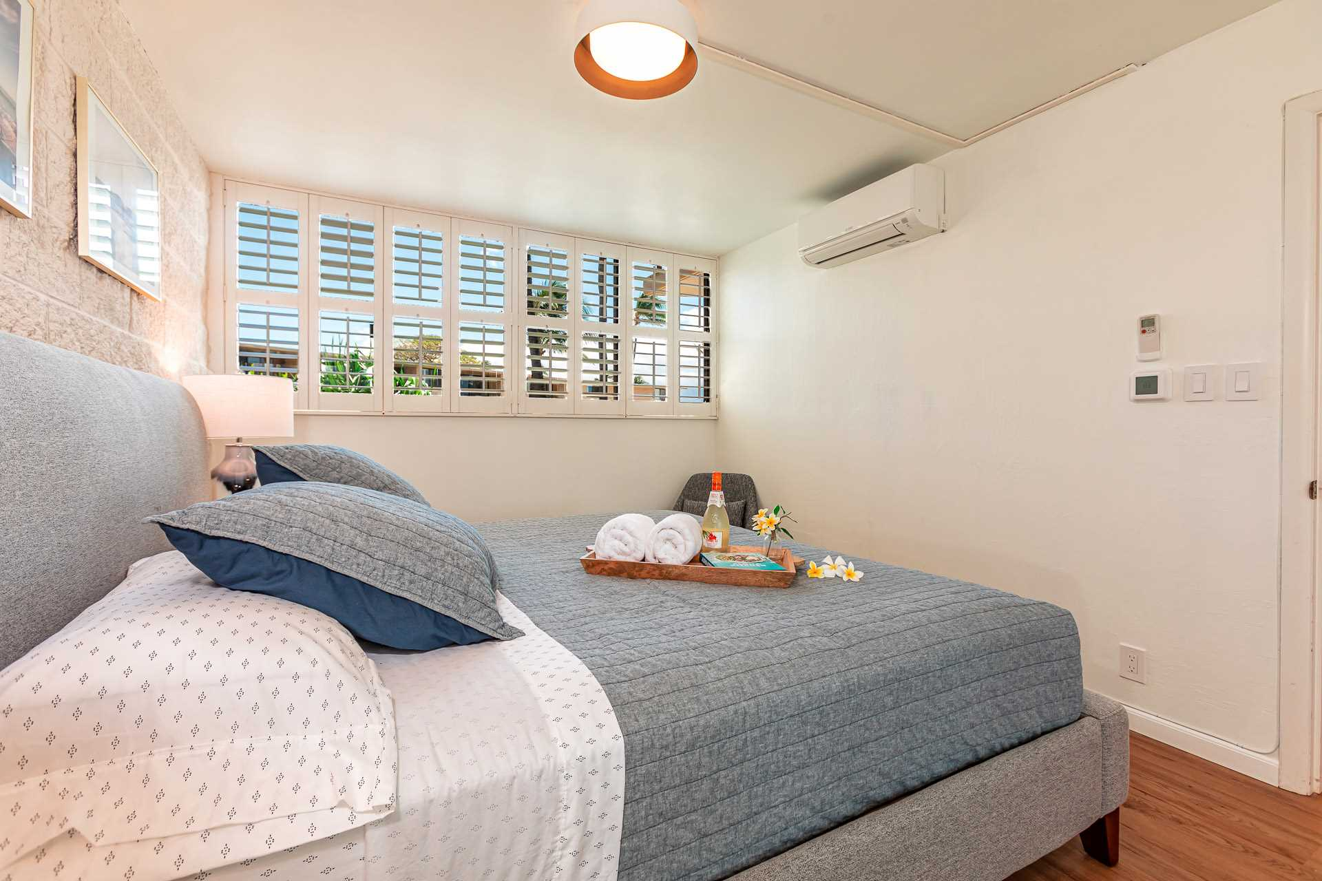 Master bedroon with Split Type Airconditioner