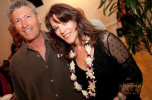 Steve Freid and Marianne Williamson